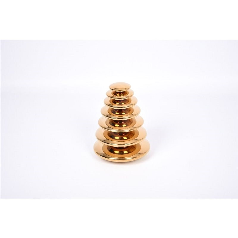Sensory Reflective Gold Buttons - Educational Toy