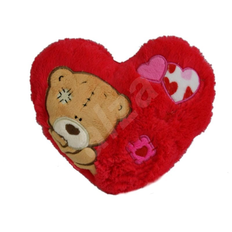 Heart with Copper 16 x 20cm - Plush Toy