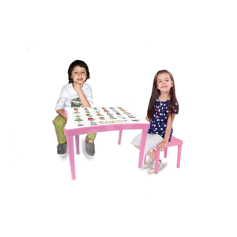 Jamara Child seating group Learning pink - Children's Table