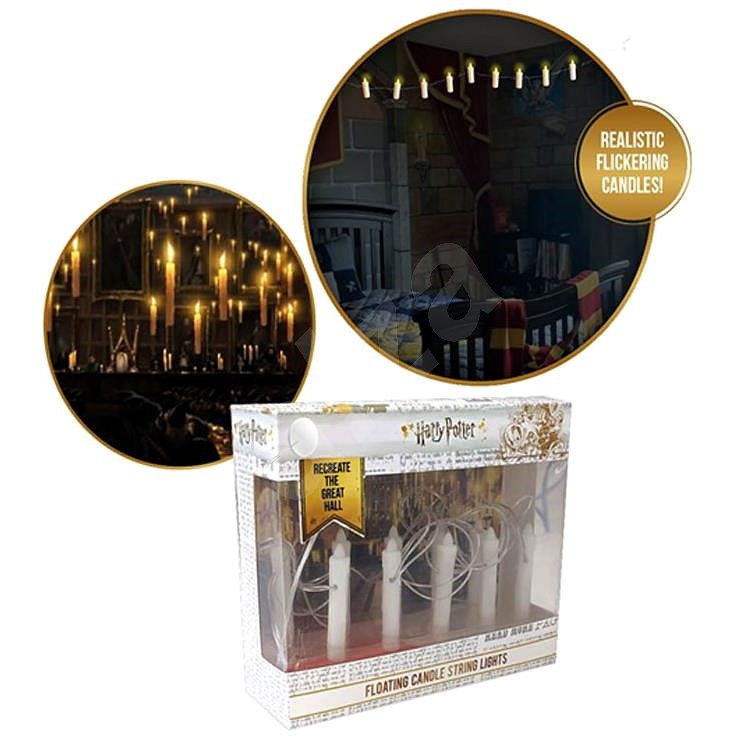 Wow Stuff - Harry Potter - Flying el. candles (12 candles 5 cm long) - Children's Room Light