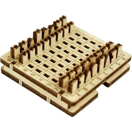 Pocket Game Chess - 3D Puzzle