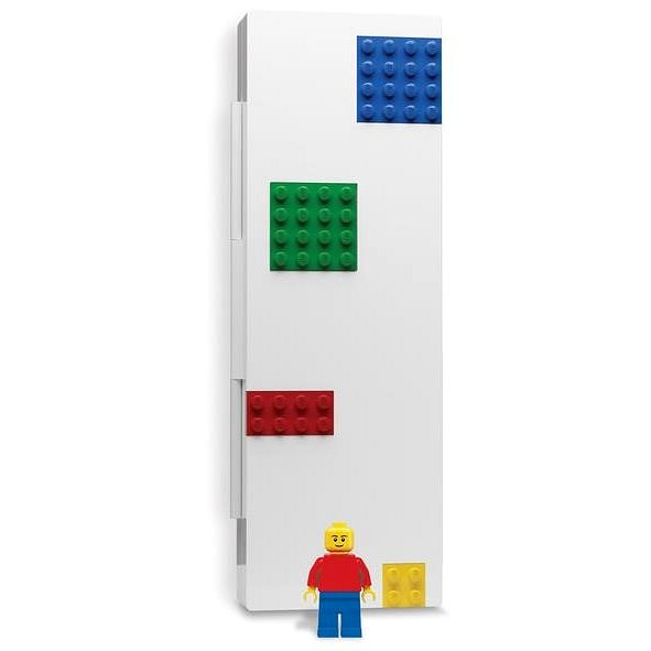 LEGO Stationery Case with Minifigure, Coloured - School Case
