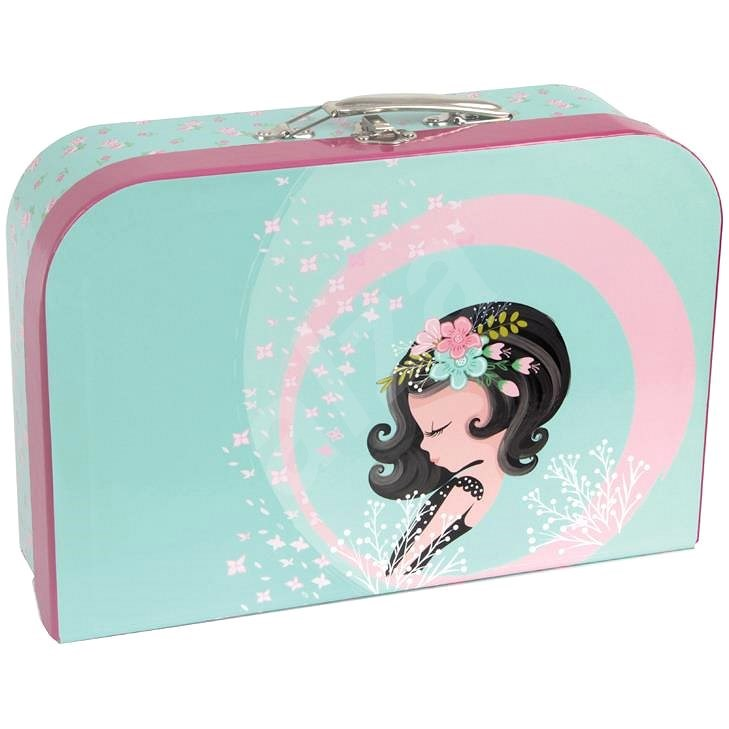 Style Suitcase Cute Girl - Small Briefcase