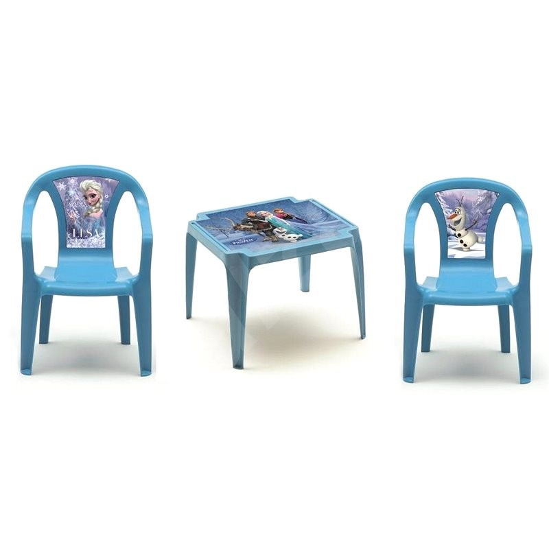 IPAE - DISNEY Set FROZEN 2 Chairs + Coffee Table - Children's Furniture