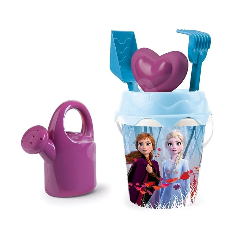 Smoby Bucket Frozen Kingdom 2 with Teapot and Accessories - Sand Tool Kit