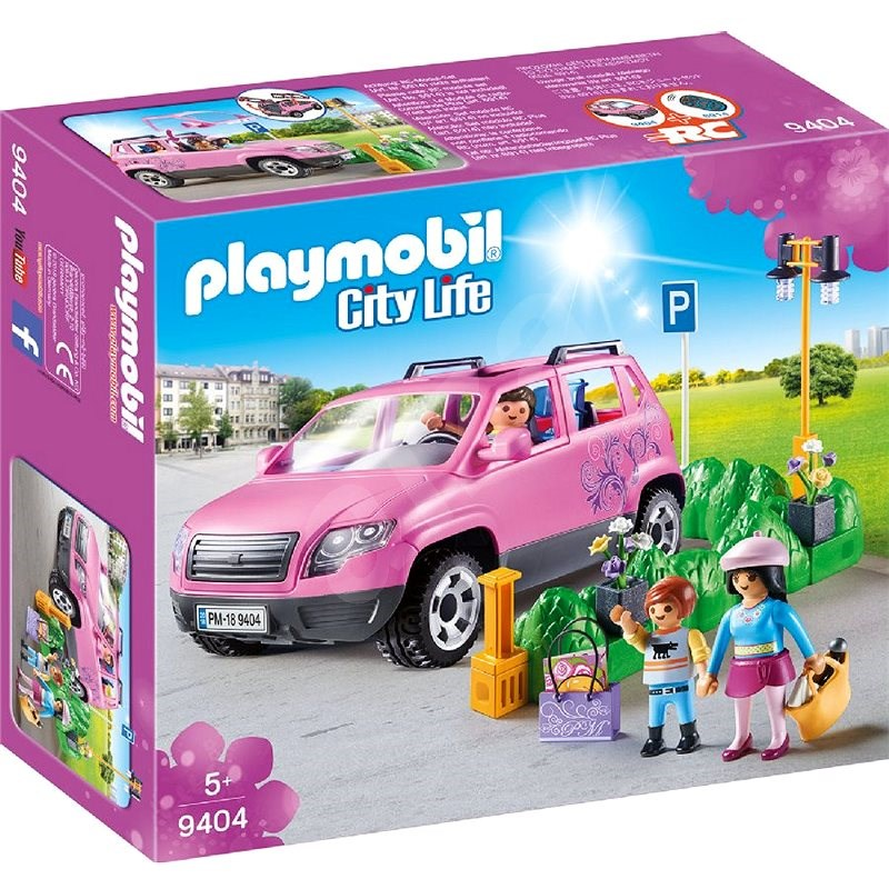 Playmobil 9404 Family Car with Parking Space - Building Kit