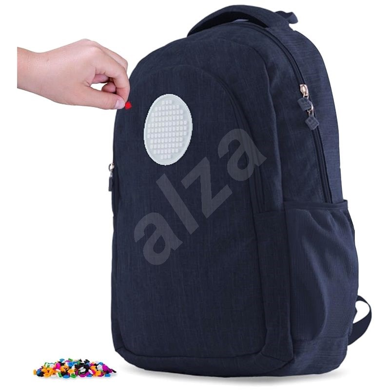 Pixie Crew student backpack blue - School Backpack