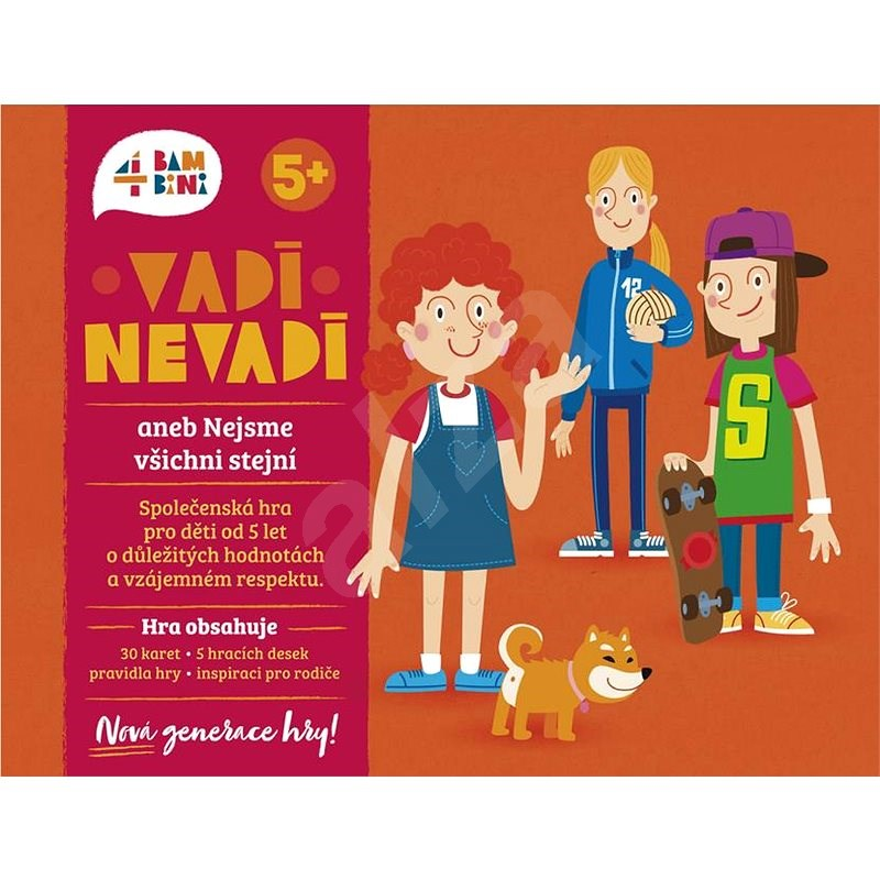 4bambini Never Mind! or We are Not All the Same - A New Generation - Board Game