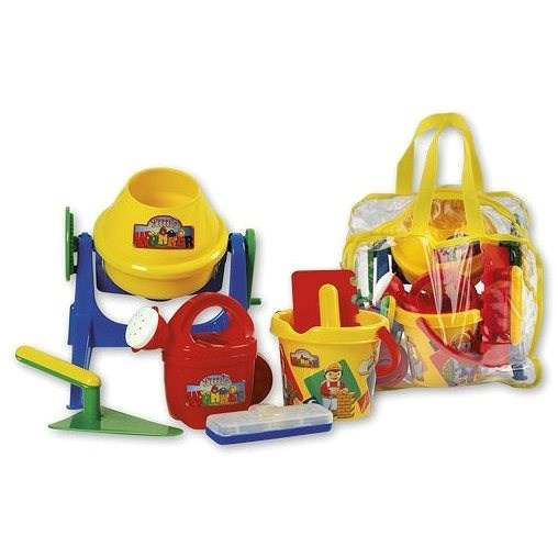 Androni Sand mixer with accessories in a travel bag - Sand Tool Kit