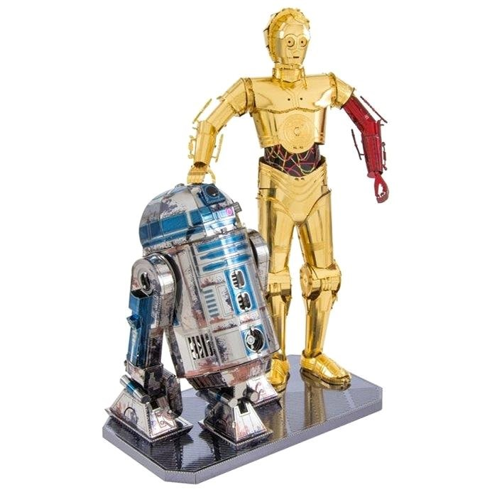 Metal Earth 3D Puzzle Star Wars: R2D2 and C-3PO (Deluxe Set) - 3D Puzzle