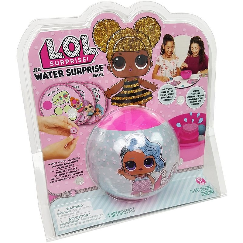 LOL Surprise! with water cipher - Board Game