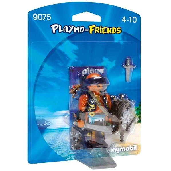 Playmobil 9075 Pirate with Shield - Building Kit