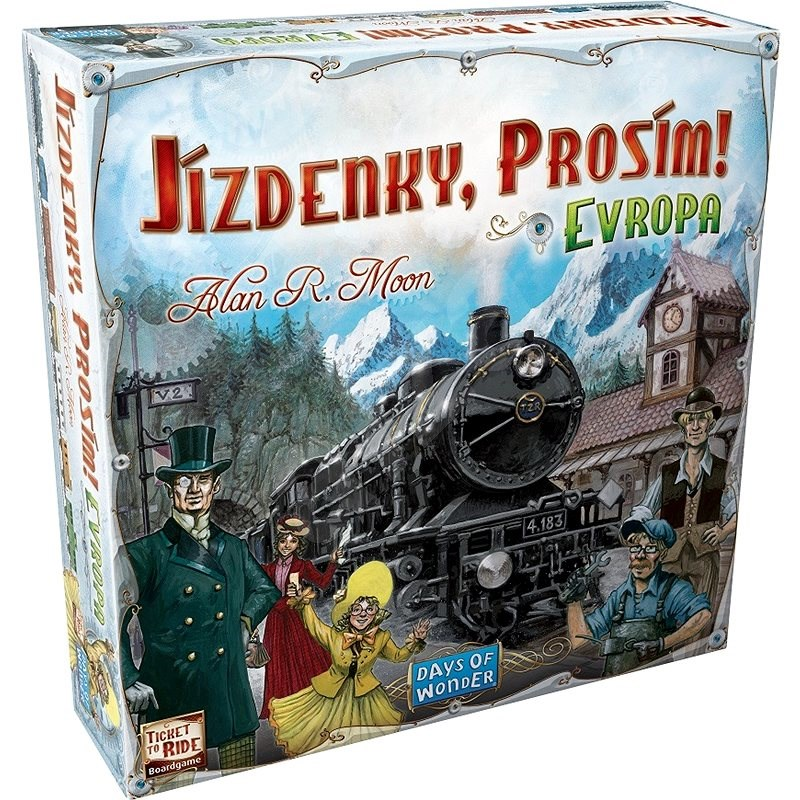 Tickets, Please! Europe - Board Game