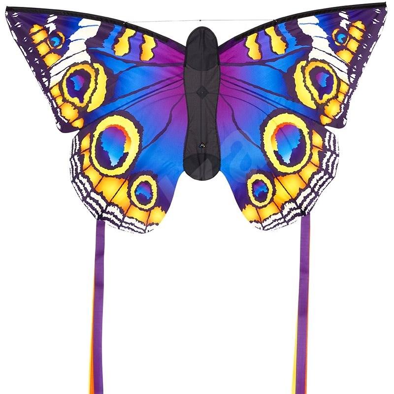 Invento Violet Yellow Butterfly - Kite