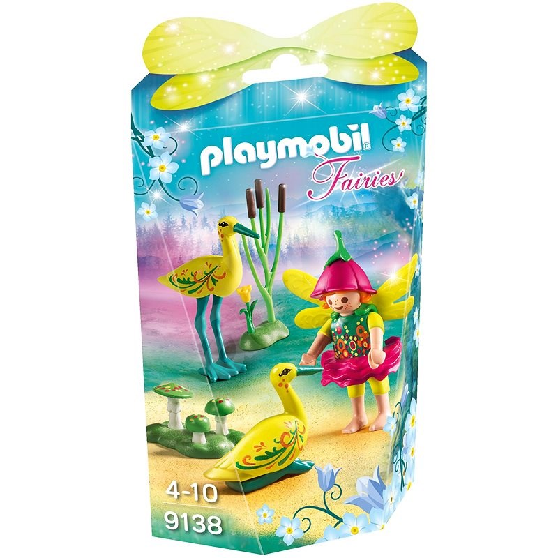Playmobil 9138 Fairy Girl with Storks - Building Kit