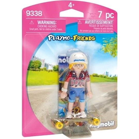 Playmobil 9338 Collectable Skateboarder - Building Kit
