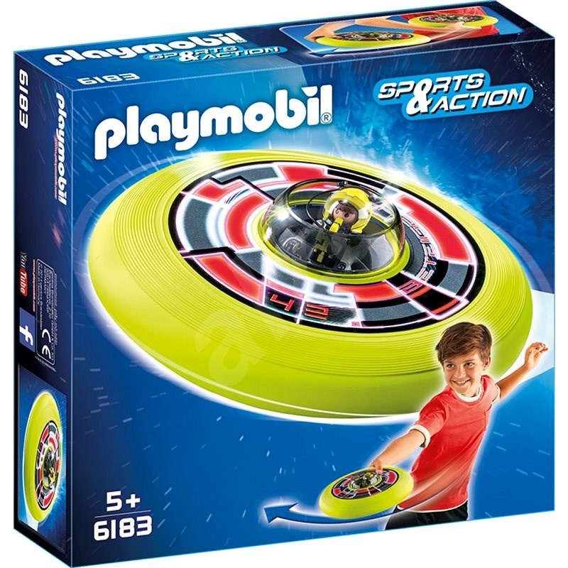 Playmobil 6183 Cosmic Flying Disk with Astronaut Figure - Building Kit