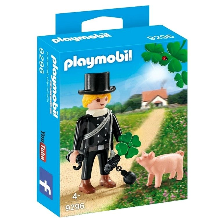 Playmobil 9296 Chimney with piggy bank - Building Kit