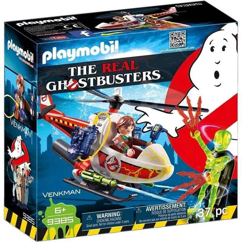 Playmobil 9385 Venkman with helicopter - Building Kit