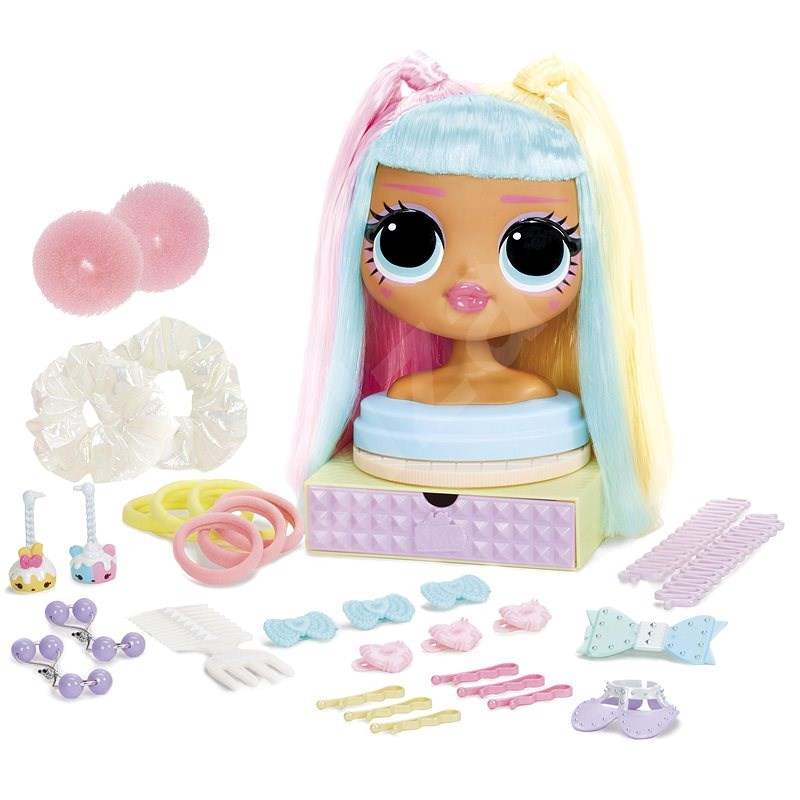 L.O.L. Surprise! OMG Comb Head - Candylicious - Styling Head