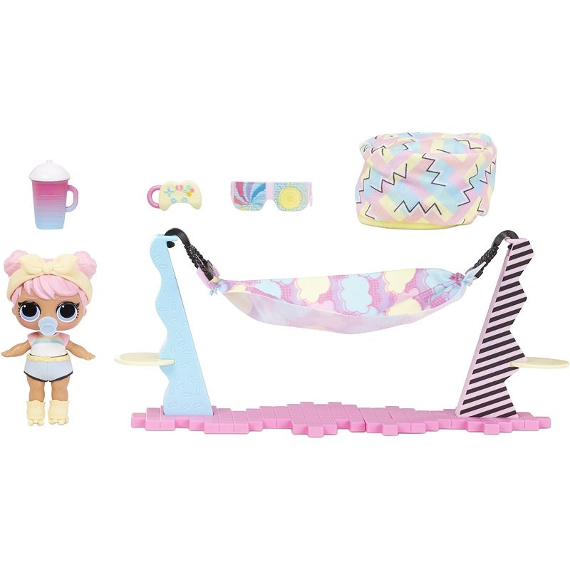 L.O.L. Surprise! Doll Furniture - Relaxation on the Beach & Dawn - Doll
