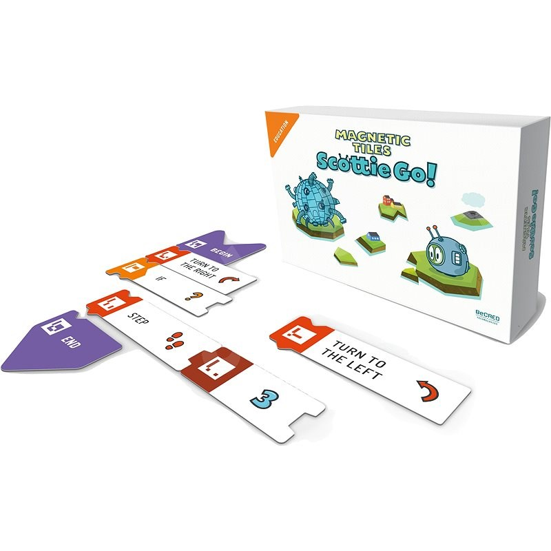 Scottie Go! Magnetic Parts ENG - Board Game