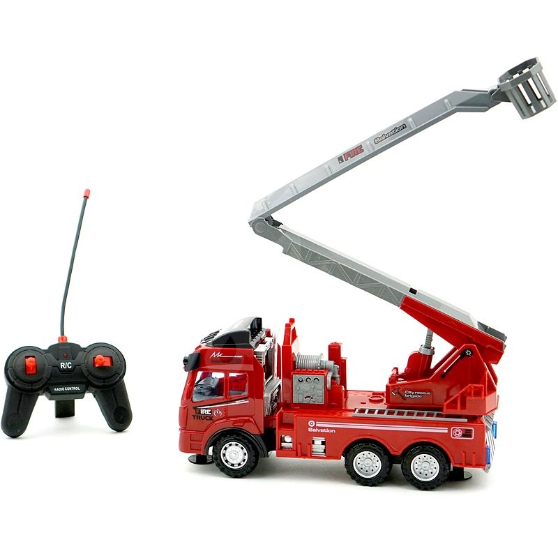 Firefighter to Control, 4 Functions - RC Remote Control Car