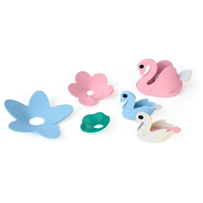 QUUTopia Swan Lake - Puzzle in the Water 3D - Water Toy