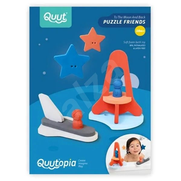 QUUTopia Expedition to the Moon - Puzzle in Water 3D - Water Toy