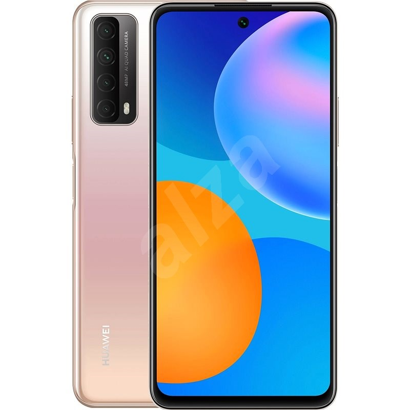 Huawei P Smart 2021 Gradient Gold - Mobile Phone