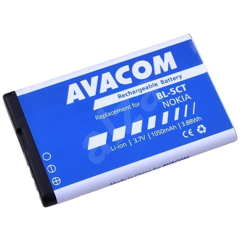 Avacom for Nokia 6303, 6730, C5, Li-Ion 3.7V 1050mAh (Replacement BL-5CT) - Mobile Phone Battery
