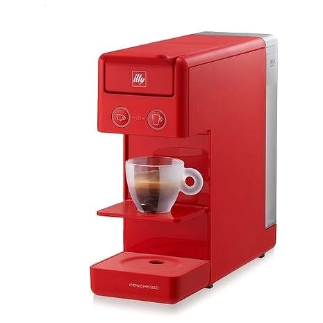 Illy Francis Francis Y3.3 Red iperEspresso - Capsule Coffee Machine