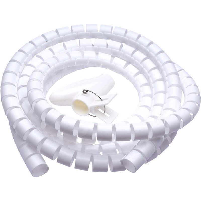 CONNECT IT CableFit WINDER white 2.5m - Cable Organiser