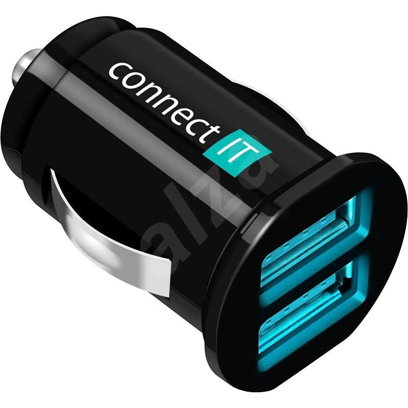 CONNECT IT  InCarz Charger Mini black - Car Charger