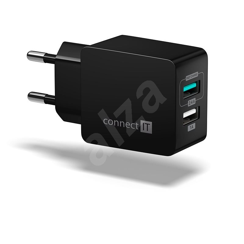 CONNECT IT Fast Charge CWC-2015-BK Black - AC Adapter