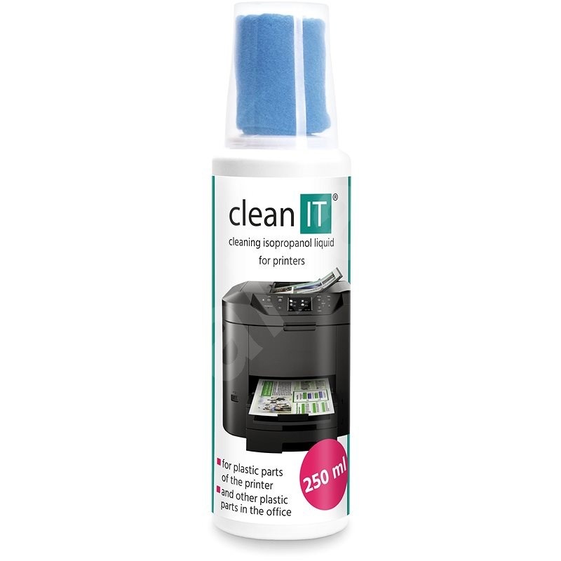 CLEAN IT plastic cleaning solution EXTREME with wipe, 250ml - Cleaning Solution