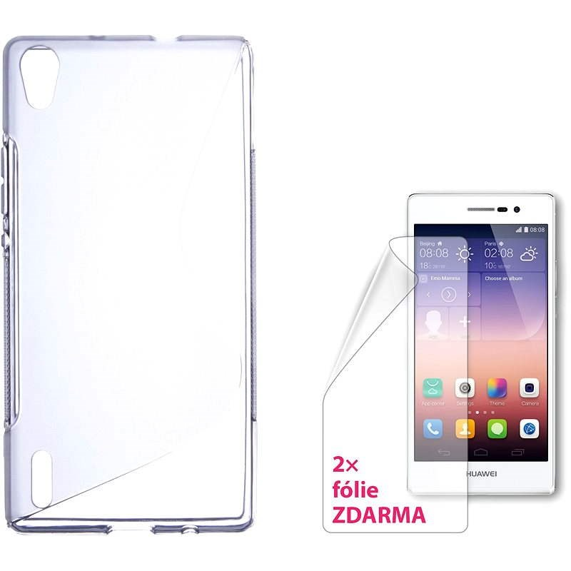 CONNECT IT S-Cover HUAWEI P7 clear - Protective Case