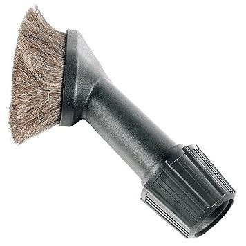 Universal Dusting Brush with Natural Bristles - Nozzle