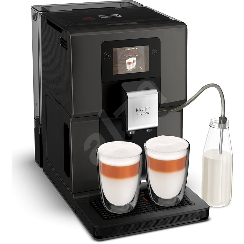 Krups EA872B10 Intuition Preference Anthracite - Automatic Coffee Machine