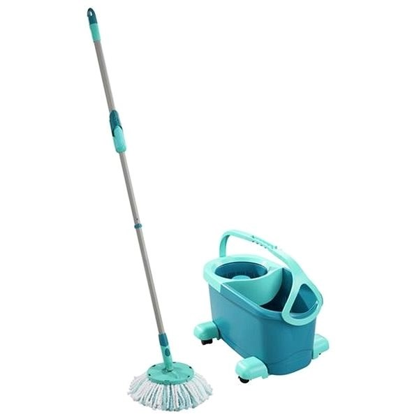 LEIFHEIT Set of Clean Twist Disc Mop Mobile EVO - Cleaning Kit