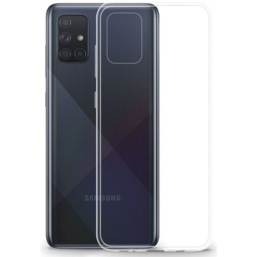Lenuo Transparent for Samsung Galaxy A71, Clear - Mobile Case
