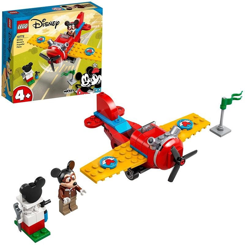 LEGO® | Disney Mickey and Friends 10772 Mickey Mouse's Propeller Plane - LEGO Set