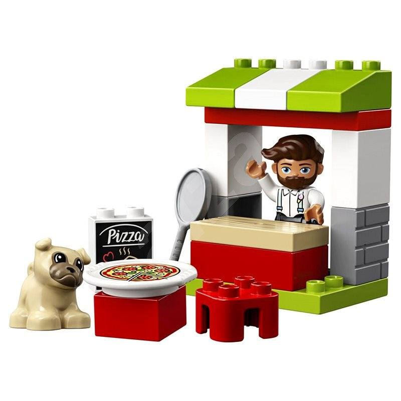 LEGO DUPLO Town 10927 Pizza Stand - LEGO Building Kit