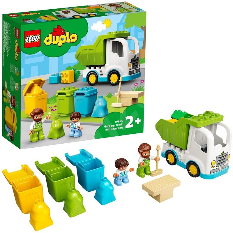 LEGO® DUPLO® 10945 Garbage Truck and Recycling - LEGO Set