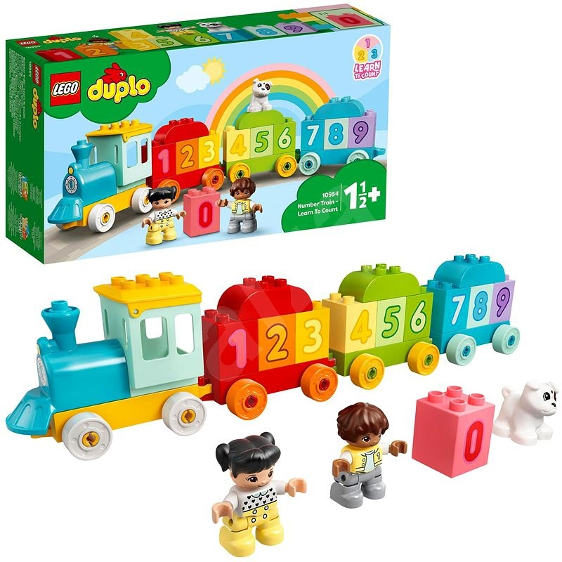 LEGO® DUPLO® 10954 Number Train - Learn To Count - LEGO Set