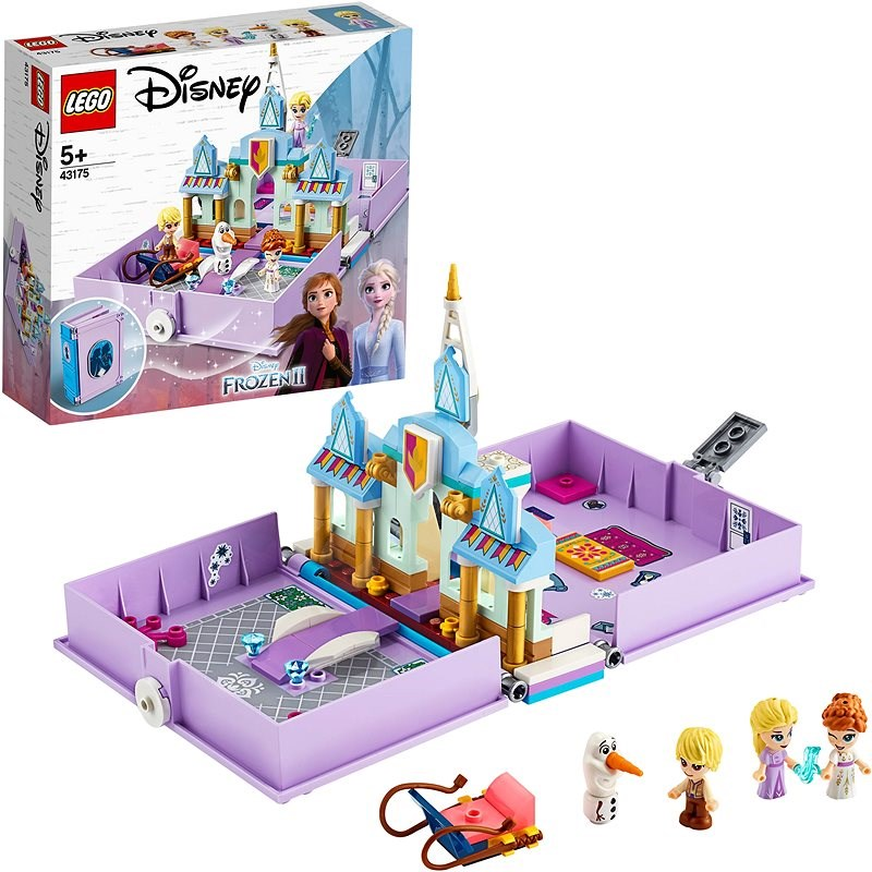 LEGO Disney 43175 Anna and Elsa's Storybook Adventures - LEGO Building Kit