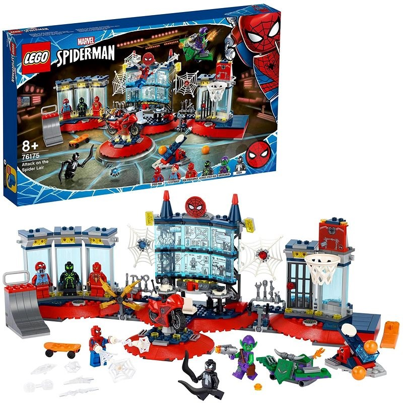 LEGO® Super Heroes 76175 Attack on the Spider Lair - LEGO Set