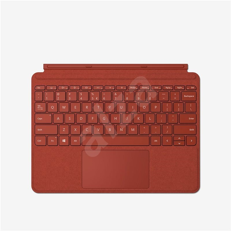 Microsoft Surface Go Type Cover Poppy Red ENG - Keyboard