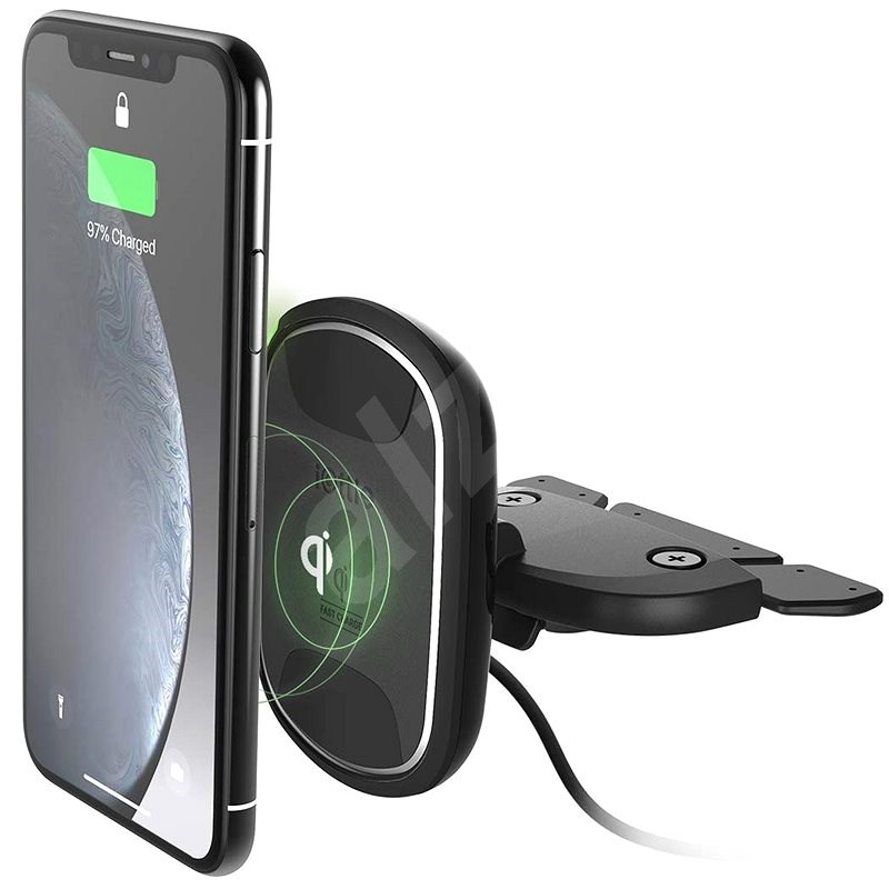 iOttie iTap Wireless 2 Fast Charging Magnetic CD Mount - Mobile Phone Holder