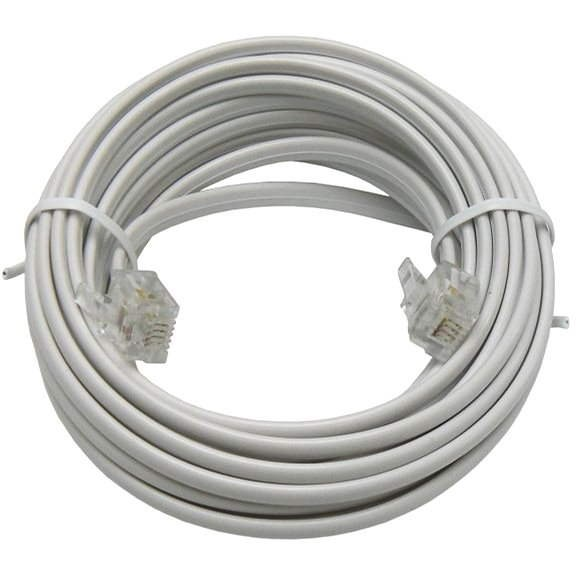 Telephone OEM with RJ11 connectors, 6m - Telephone Cable